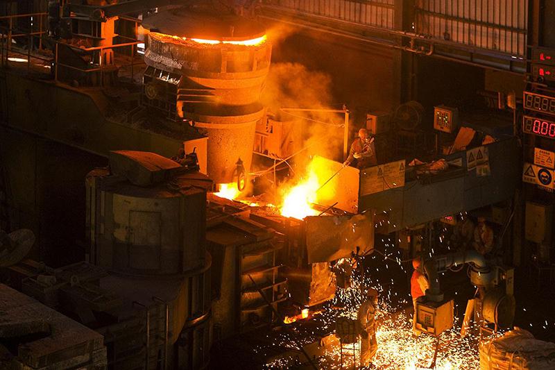 钢铁冶炼领域